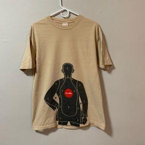 Vintage 90s Chocolate body target t shirt